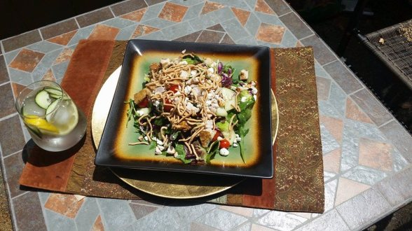 Chinese Chicken Salad by  Kim Evans, MA